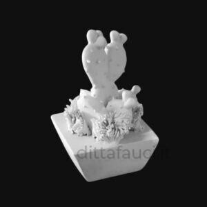 semilavorati in ceramica e biscotto in terracotta bianca e rossa. Oggettistica da Smaltare e decorare