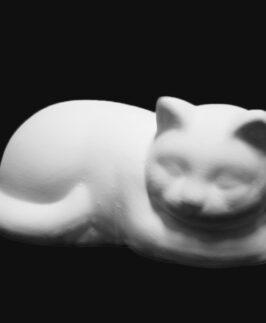 Gatto sdraiato cm 25x11 | Semilavorati in ceramica